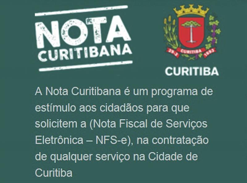 6605fd289 Entenda as diferenças entre os programas Nota Curitibana e Nota ...