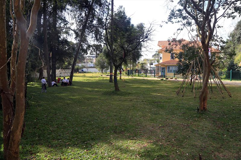 Curitiba vai ganhar mais uma unidade de conservação, a ser implantada no local que abriga o Bosque Gomm, no bairro Batel. Curitiba, 16/07/2014 -  Foto, Valdecir Galor