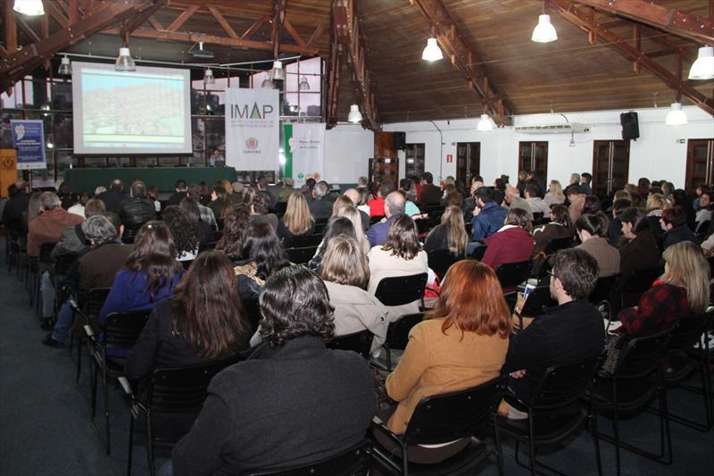 Seminário debate desafios da revisão do Plano Diretor de Curitiba. Curitiba, 15/08/2014 Foto: Lucilia Guimarães/IPPUC