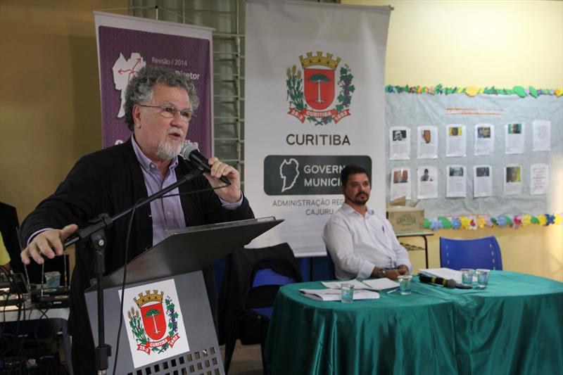 Audiência publica realizada na regional Cajuru. Curitiba, 18/11/2014 Foto: Lucilia Guimarães