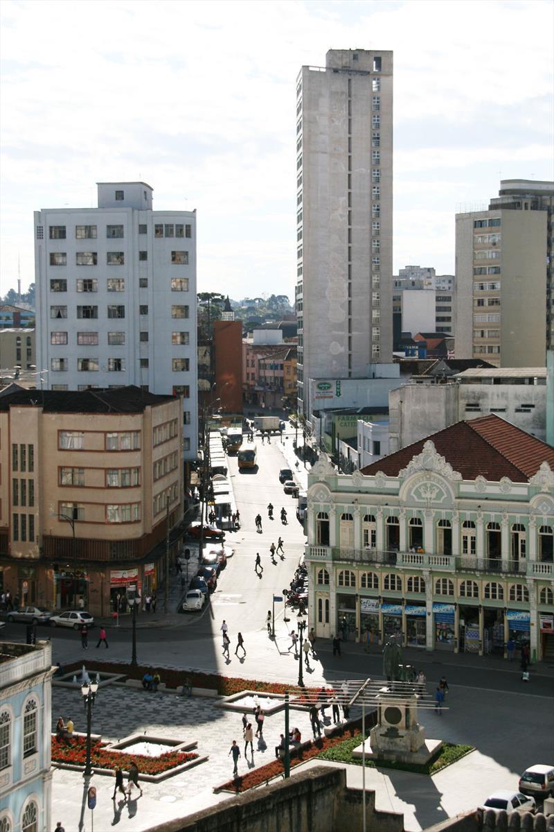 O projeto de lei de Revisão do Plano Diretor de Curitiba, válido para os próximos dez anos, estabelece uma série de instrumentos de política urbana para auxiliar a administração a tornar concreto o planejamento projetado para a cidade. Foto: Lucilia Guimarães