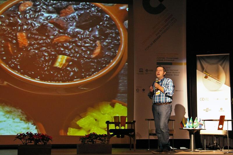 2º Fórum Internacional Cidades Amigas do Design.  - Na imagem, Marco Lobo. Curitiba, 05/11/2015 -  Foto: Lucilia Guimaraes