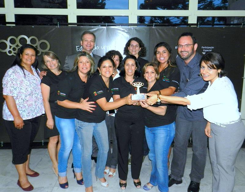 O programa Comunidade Escola, da Prefeitura de Curitiba está entre as melhores práticas selecionadas no 1º Prêmio Gestor Público Paraná. Foto: Divulgação