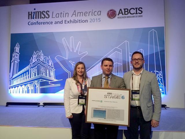 O Hospital do Idoso Zilda Arns recebeu a certificação internacional pelo uso da tecnologia de informação para melhoria da segurança do paciente. Foto: Divulgação