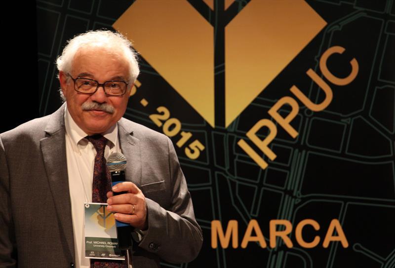 50 Anos do IPPUC.  - Na imagem, Michael Romanos. Foto: Lucilia Guimarães/IPPUC