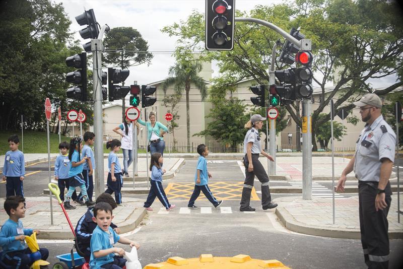 Para a Escola Pública de Trânsito (Eptran) da Setran foram destinados R$ 1.090.811,92 do arrecadado com multas para a aquisição de materiais pedagógicos e campanhas de educação para o trânsito como determina o artigo 75 do CTB. Foto: Gabriel Rosa/SMCS