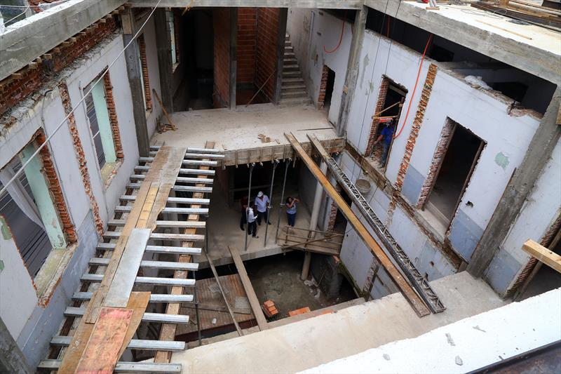 Complexo cultural Cine Passeio vai transformar a região da Rua Riachuelo. Curitiba, 08/02/2017 Foto: Valdecir Galor/SMCS