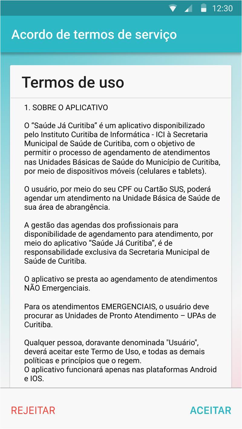 Aplicativo Saúde Já Curitiba começa a ser testado. Ilustração:SMS