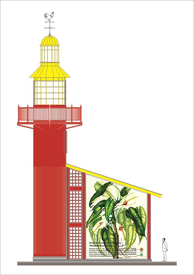 Em reunião de avaliação de projetos no Instituto de Pesquisa e Planejamento Urbano de Curitiba (Ippuc), nesta quinta-feira (04/05), o prefeito Rafael Greca aprovou a proposta de transformar a parte externa dos Faróis do Saber em painéis artísticos. Curitiba, 04/05/2017 Ilustração:IPPUC
