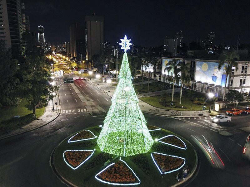 árvores natalinas