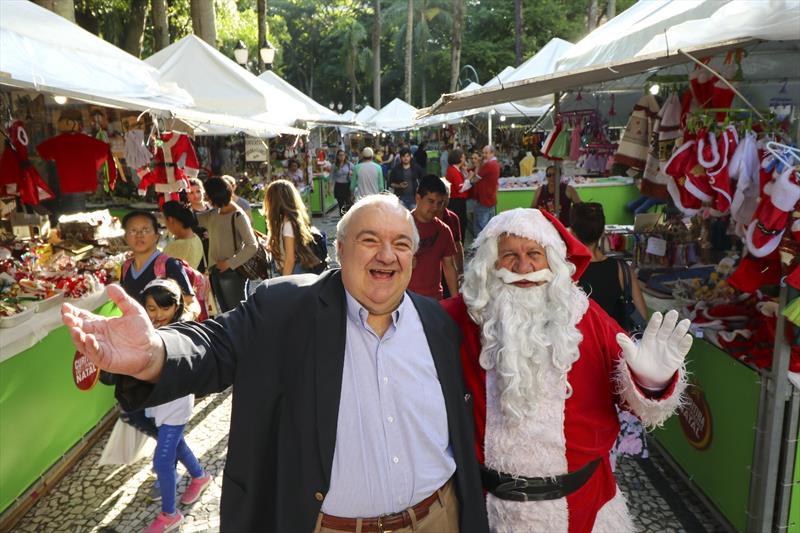 Rafael na Feira de Natal
