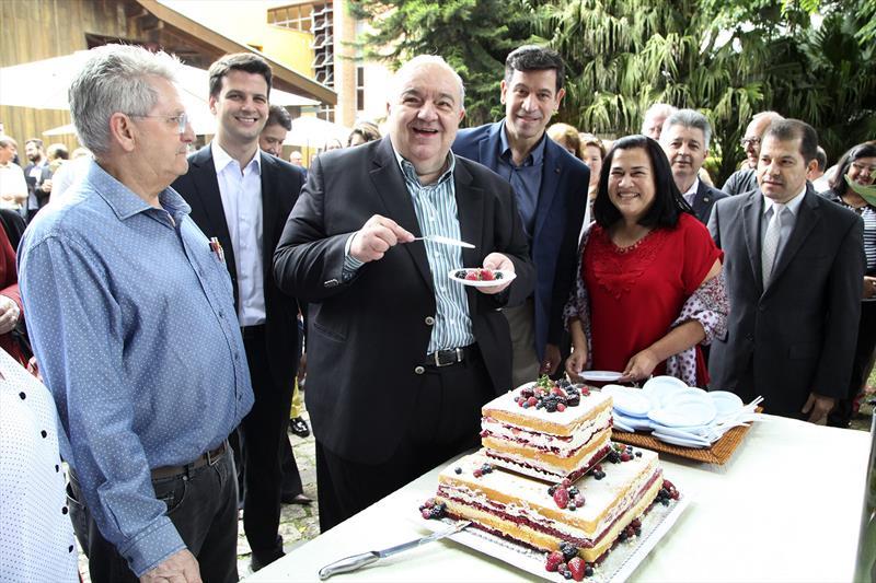 Rafael Greca participa das comemorações de 52 anos do Instituto de Pesquisa e Planejamento Urbano de Curitiba (Ippuc), neste 1º de dezembro, cumprindo o desafio o resgate do planejamento, traçado como meta nesta gestão.  Curitiba, 01/12/2017 Foto:Ari Dias/IPPUC