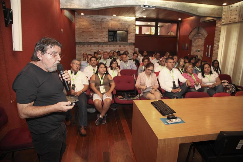 Autoridades de cidades sul-americanas conhecem o planejamento de Curitiba Representantes de governos municipais do Peru, Equador e Colômbia estão na cidade para participar do Smart City Expo 2018. Curitiba, 27/02/2018 Foto:IPPUC