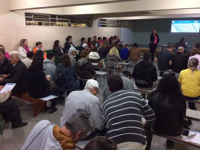 Fala Curitiba ouve os moradores do Boa Vista. Curitiba, 16/05/2018 -  Foto: Divulgação