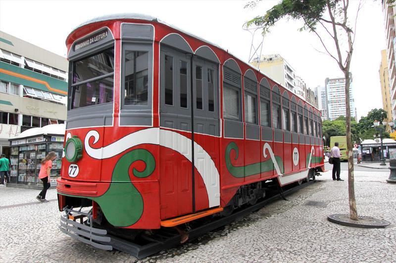 Prefeitura vai restaurar o Bondinho. Conheça a história deste ícone curitibano. Foto:Alice Rodrigues