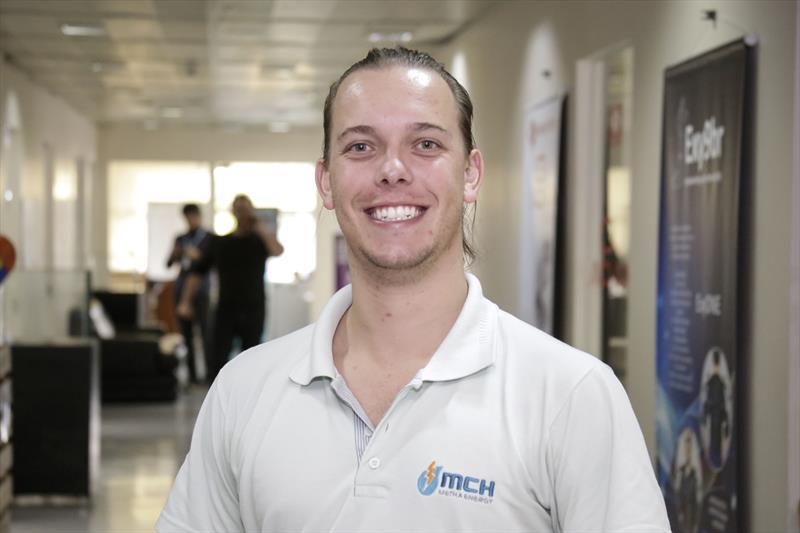 Startup curitibana recebe de R$ 1 milhão para produzir tecnologia que gera energia renovável. Felipe Wotekosk, fundador da Startup Metha, que esta na incubadora da Fiep. Curitiba, 20/06/2018 -  Foto: Luiz Costa /SMCS.