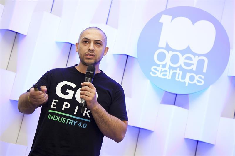 Das 100 startups mais atraentes para o mercado em 2018, dez são de Curitiba.  - Na imagem, Wellington Moscon, um dos sócios fundadores da GoEpik. Foto: Divulgação