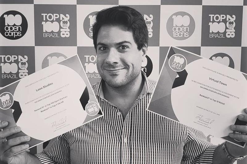 - Na imagem, O diretor de inovação da Loox Studios, Guilherme Seder, participou da divulgação do ranking nacional. Foto: Divulgação