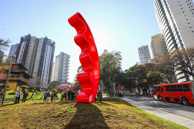 Greca anuncia extensão do Ligeirão Santa Cândida até o Capão Raso. - Curitiba, 19/07/2018 - Foto: Daniel Castellano/SMCS