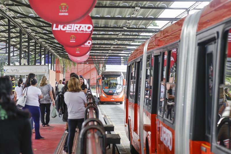Greca anuncia extensão do Ligeirão Santa Cândida até o Capão Raso. - Curitiba, 19/07/2018 -  Foto: Pedro Ribas/SMCS