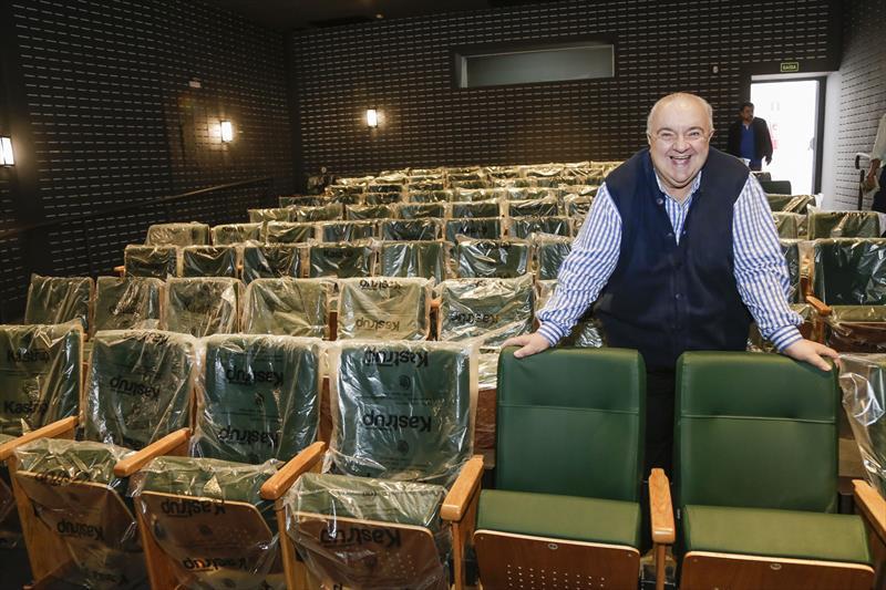 Prefeito Rafael Greca, vistoria o Cine Passeio, no Centro. Curitiba, 27/07/2018. Foto: Pedro Ribas/SMCS