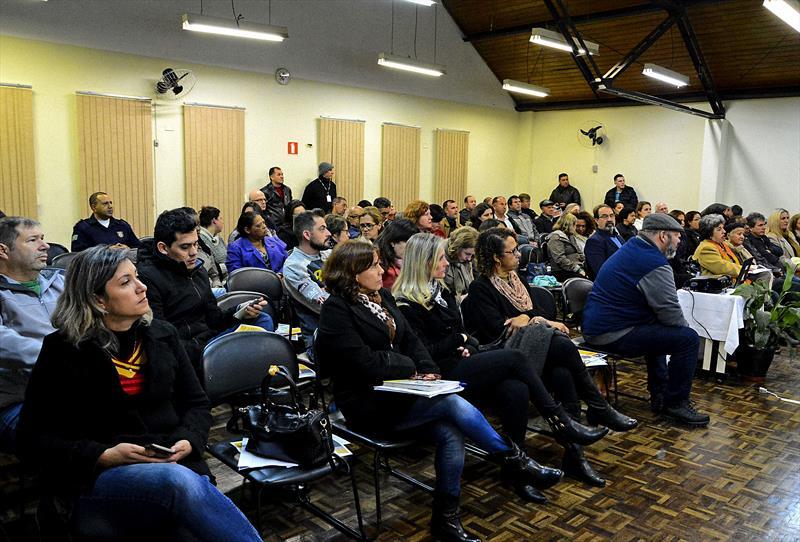 Moradores do Pinheirinho e Santa Felicidade, elegeram as prioridades finais para composição da proposta de Lei Orçamentária Anual (LOA) 2019 de Curitiba. Curitiba, 02/08/2018. Foto: Levy Ferreira/SMCS