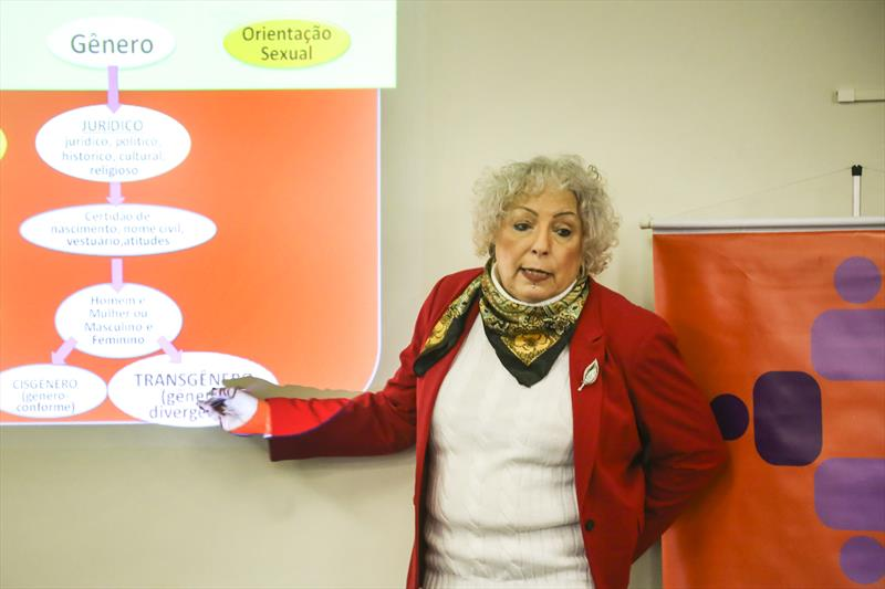 Palestra sobre orientação sexual para servidores públicos. Curitiba, 10/08/2018. Foto: Luiz Costa /SMCS
