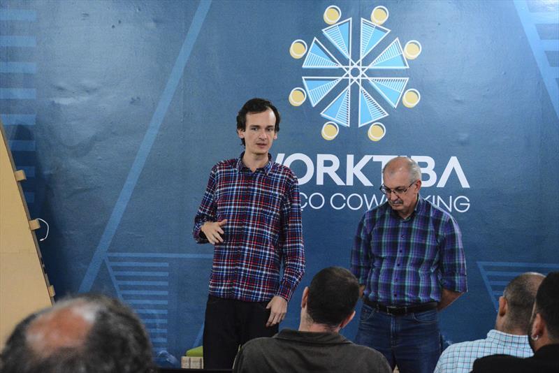 """O Worktiba Barigui realizou a primeira palestra da série """"Sou MEI e quero Vender para o município"""".  Curitiba,12/09/2018 -  Foto: Levy Ferreira/SMCS"""