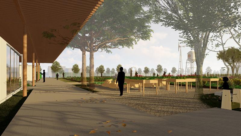 O projeto da Fazenda Urbana de Curitiba foi apresentado ao prefeito Rafael Greca, no Instituto de Pesquisa e Planejamento Urbano de Curitiba (Ippuc). Foto: Divulgação