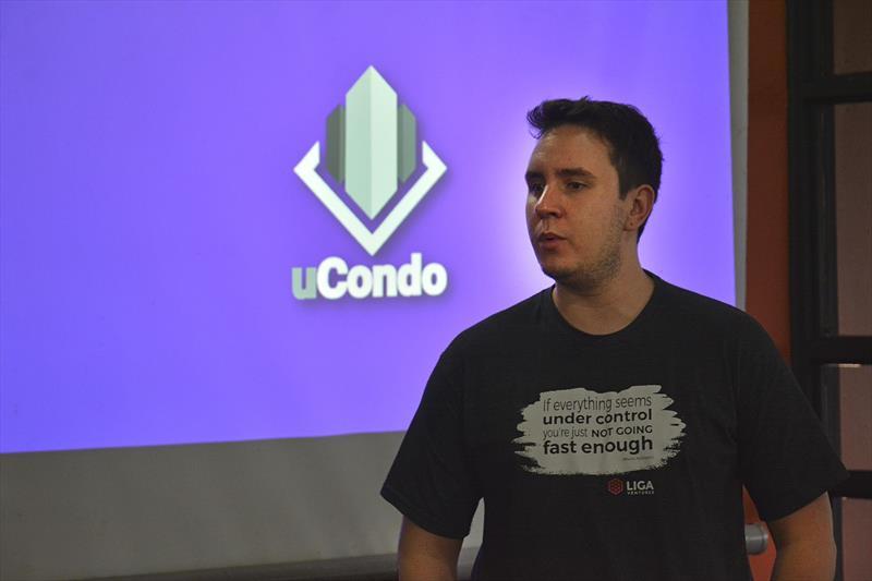Palestra Worktiba: UCondo, startup curitibana de gestão de condomínios no Barigui. Curitiba, 10/10/2018. Foto: Levy Ferreira/SMCS