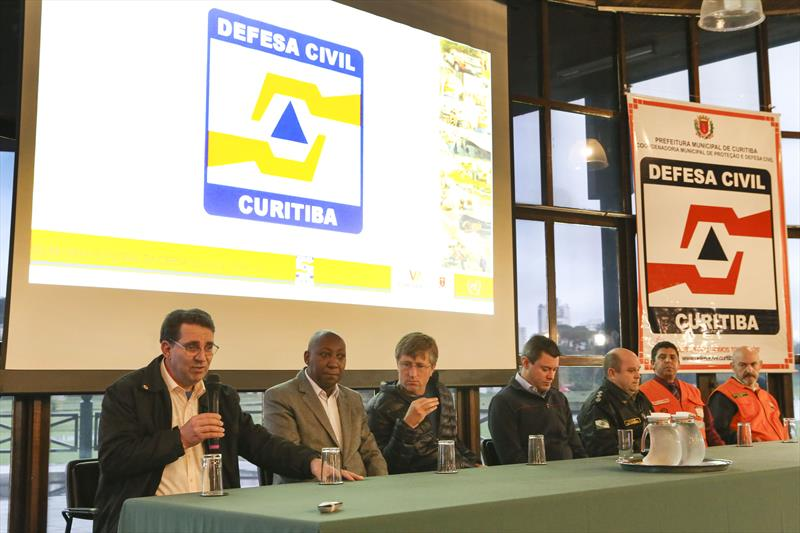 Lançamento da Rede Municipal de Emergência de Radioamadores de Curitiba, no Salão de Atos do Parque Barigui. Curitiba, 11/10/2018. Foto: Cesar Brustolin/SMCS