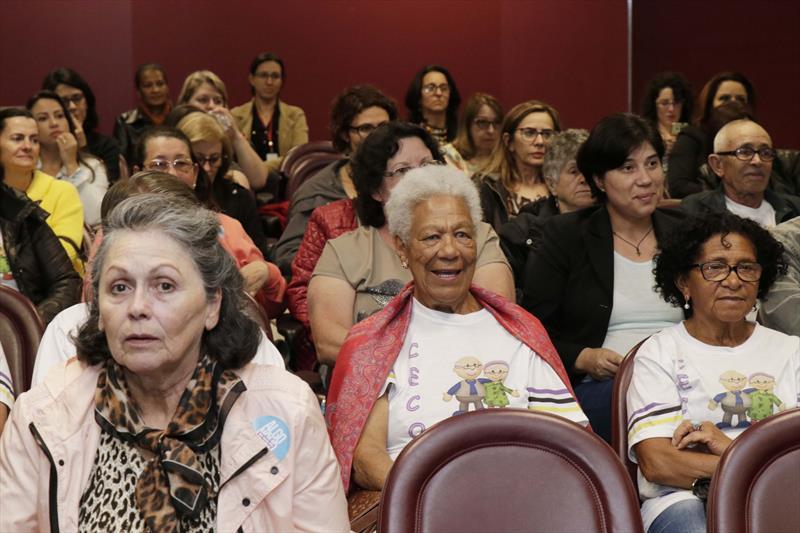 FAS apresenta serviços para idosos em evento do MP.Curitiba.09/11/2018. Foto: Ricardo Marajó/FAS