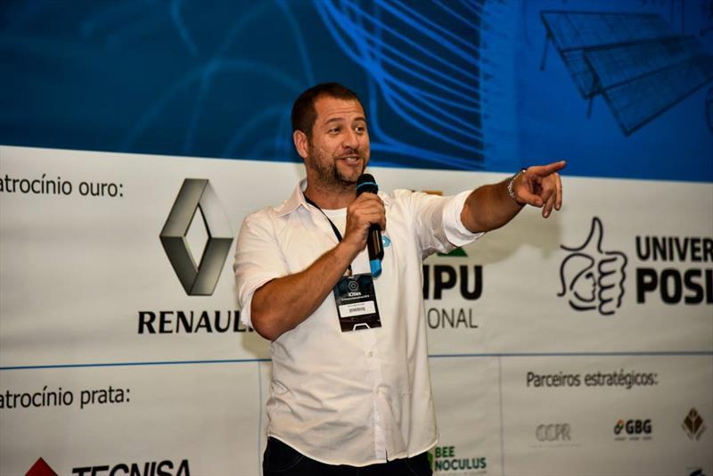 Saúde 4.0 e Smart City Curitiba 2019 serão destaques no Paiol Digital de novembro.  - Na imagem, o diretor de novos negócios da curitibana iCities, Roberto Marcelino. Foto: Bruno Tomasoni