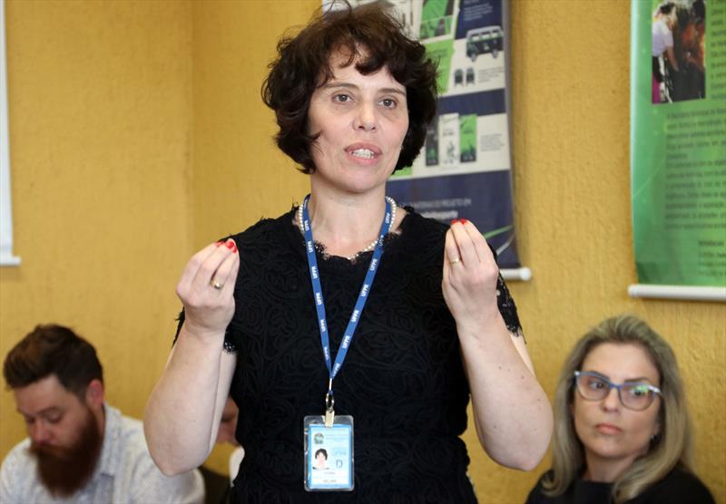 Prefeito Rafael Greca participa do Protocolo de Parcerias Universidades e Suécia.  - Na iamgem, Selma Cubas.  Curitiba, 23/11/2018.  Foto: Lucilia Guimarães/SMCS