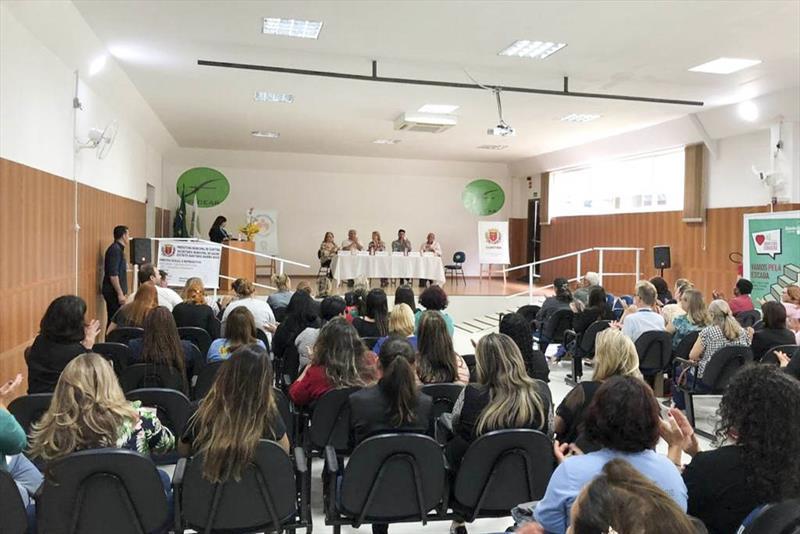 A Secretaria Municipal da Saúde promoveu, nesta segunda e terça-feira (26 e 27/11), o 3º Encontro dos Direitos Sexuais e Reprodutivos. O evento foi na Maternidade Bairro Novo e no Auditório da Faculdade Araucária (Facear).  Curitiba, 27/11/2018 Foto:Divulgação