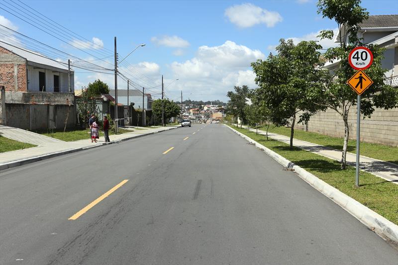 Obras feitas com o medidas compensatórias das ruas Wilson Stadler e älvaro Silva Abelardino no Pinheirinho. Curitiba, 04/12/2018. Foto: Luiz Costa /SMCS.