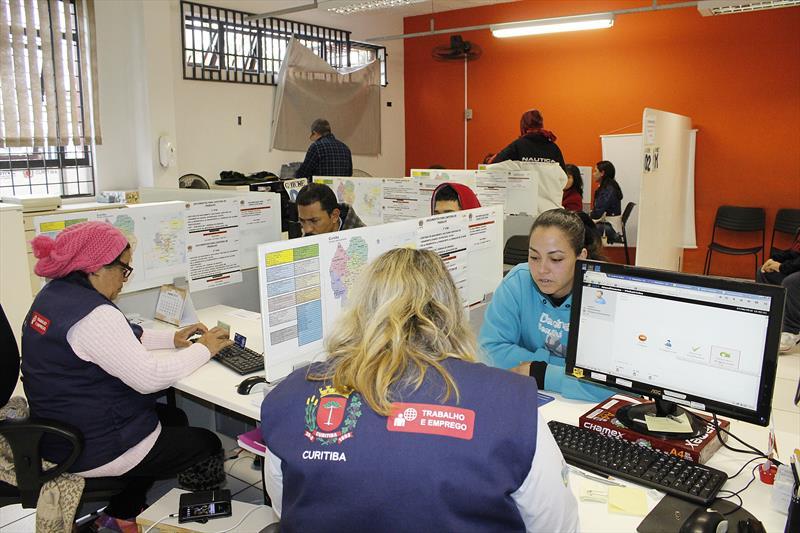 Agendamento de serviços do Sine nas Ruas da Cidadania passam a ser online.   - Na imagem, Priscila Pacheco Correia. Foto: Ricardo Marajó/FAS (Arquivo)