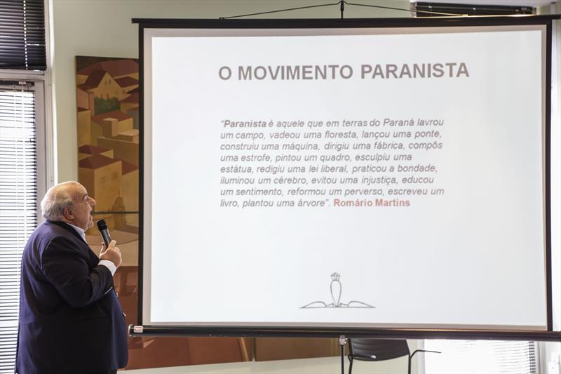 Prefeito Rafael Greca, assina repasse de recursos pela Copel por meio da Lei Rouanet, para o projeto do Memorial Paranista. Curitiba, 19/12/2018. Foto: Pedro Ribas/SMCS