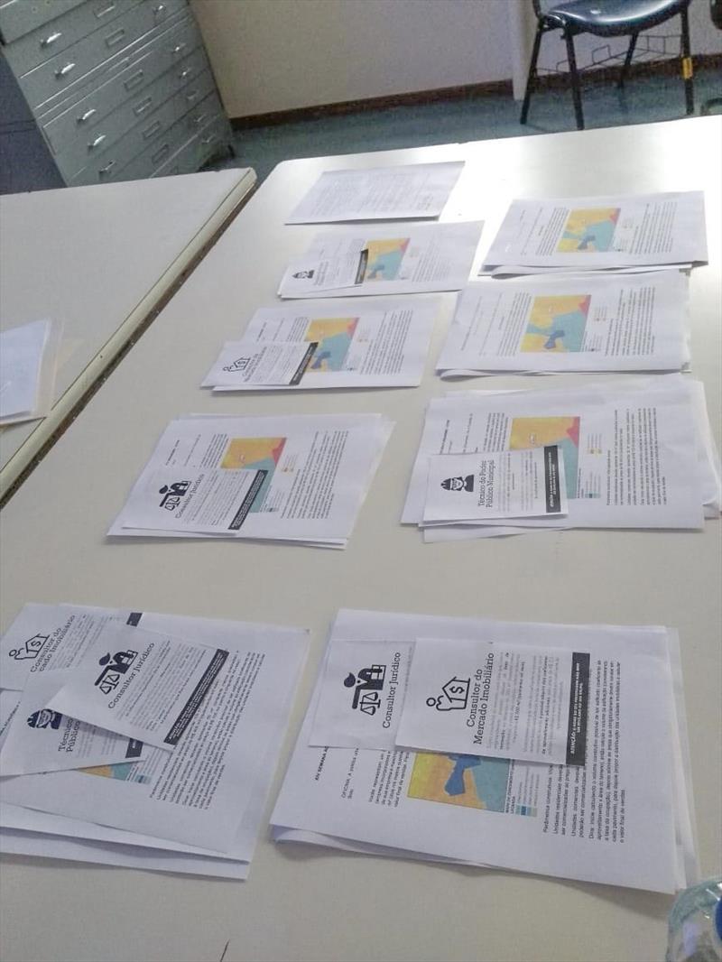 Estudantes de arquitetura e geografia fizeram ensaios com legislação fictícia e informações de um mercado fictício.  Foto: Divulgação