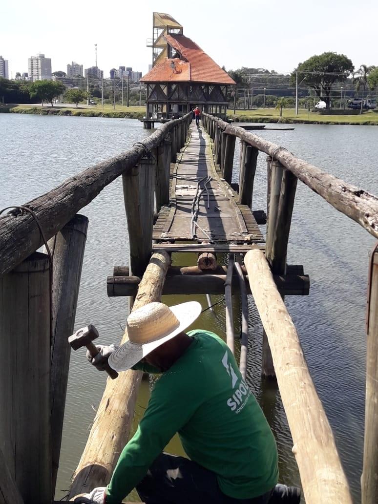 O Parque Náutico, no Boqueirão, vai começar 2019 totalmente repaginado. As secretarias de Obras Públicas e do Meio Ambiente estão fazendo uma série de melhorias no local que é o endereço de esporte e lazer de muitos curitibanos. Foto: Divulgação