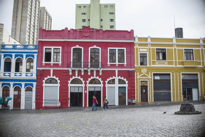 """Em março, foi lançado o tour gratuito """"Caminhada Turística"""", que percorre o Centro Histórico da capital durante duas horas. Foto: Gabriel Rosa/SMCS"""
