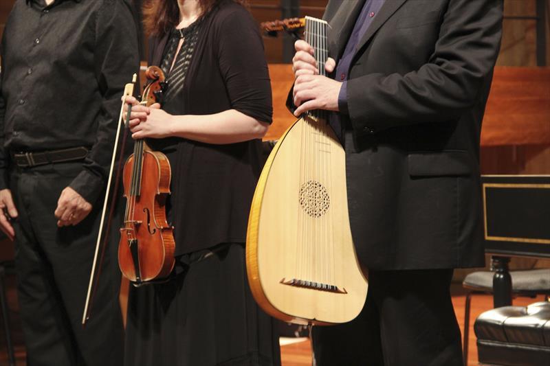 Com instrumentos de época, música antiga tem espaço garantido em concertos e cursos. Foto: Lucilia Guimarães/SMCS