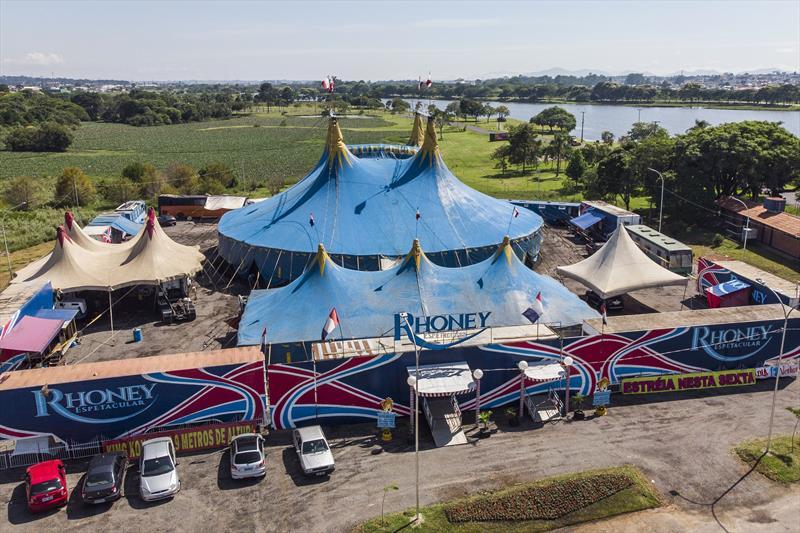 Circo Rhoney Espetacular, no Parque Náutico do Boqueirão. Curitiba, 10/01/2019. Foto: Pedro Ribas/SMCS