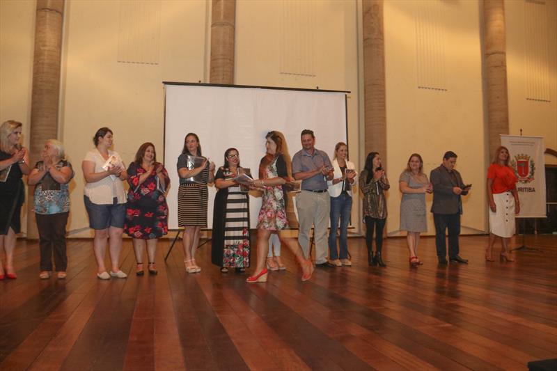 Diretores de escolas se reúnem para debater e preparar ano letivo. Curitiba, 08/02/2019.  Foto: Lucilia GUimarães/SMCS