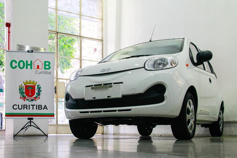 A Companhia de Habitação Popular de Curitiba (Cohab), vai sortear um carro 0 km entre os mutuários em dia com suas prestações. Curitiba, 30/01/2019. Foto: Rafael Silva/COHAB