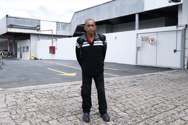 FAS prepara pessoas em situação de rua para o mercado de trabalho. Na imagem: Luiz Carlos de Souza Machado. Curitiba.13/02/2019. Foto: Ricardo Marajó/FAS