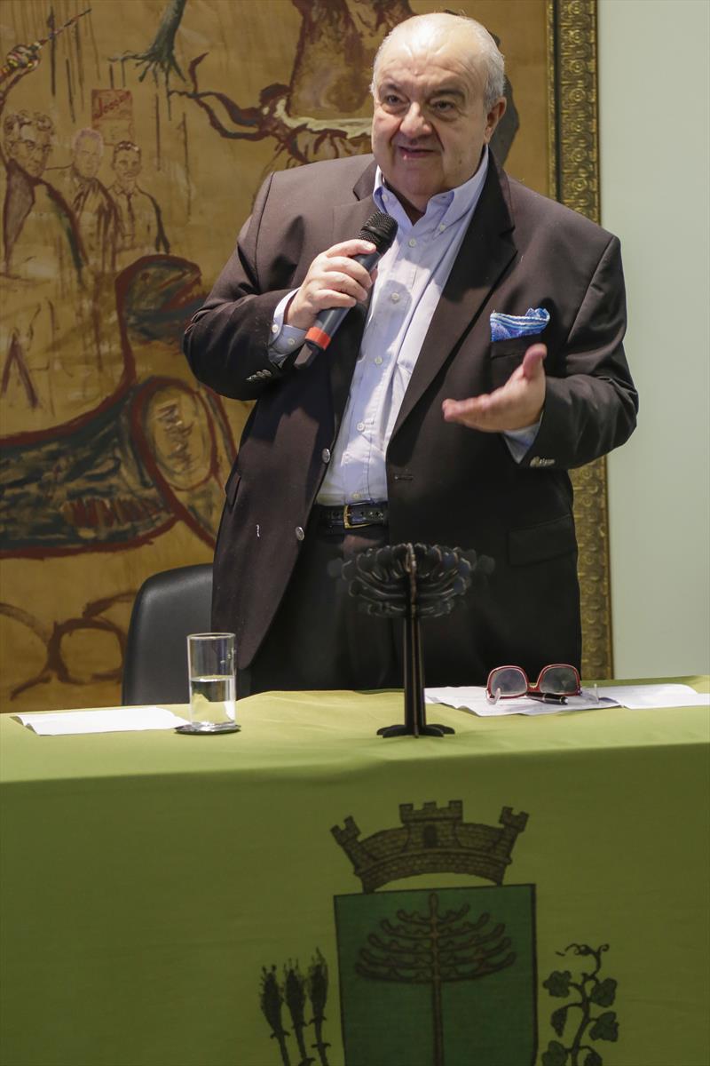 Prefeito Rafael Greca, participa do encontro do Programa de Ação Climática C40. Curitiba, 27/02/2019. Foto: Pedro Ribas/SMCS