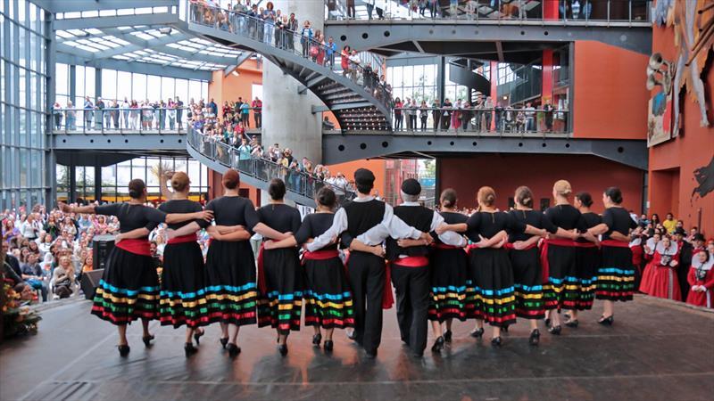 O Pavilhão Étnico reinicia seu calendário de atividades no Memorial de Curitiba neste fim de semana. Foto: Cido Marques/FCC