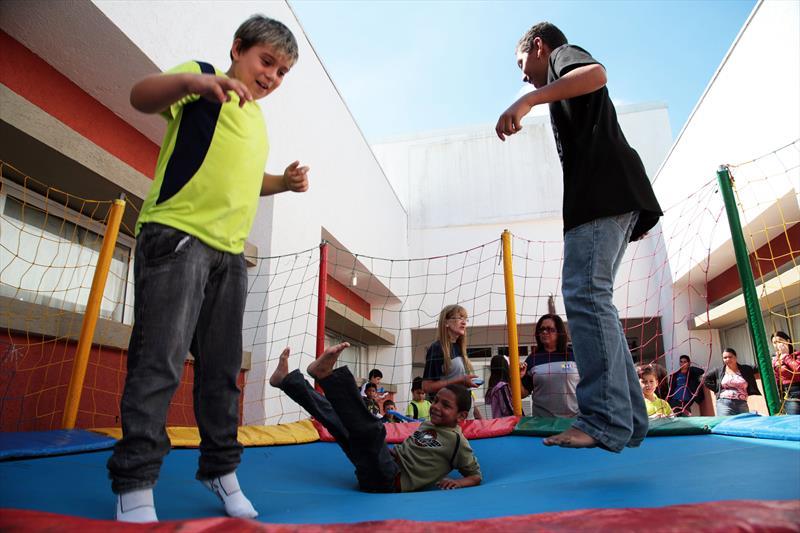 Escola do Parolin inicia no sábado atividades do programa Comunidade Escola. Foto: Jaelson Lucas SMCS (arquivo)