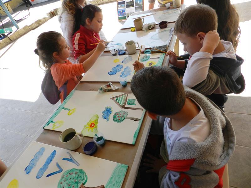Escola do Parolin inicia no sábado atividades do programa Comunidade Escola. Foto: Divulgação
